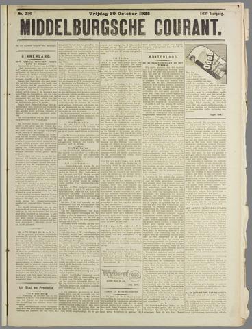 Middelburgsche Courant 1925-10-30