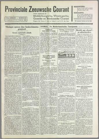 Provinciale Zeeuwse Courant 1940-10-25