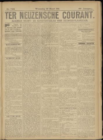 Ter Neuzensche Courant. Algemeen Nieuws- en Advertentieblad voor Zeeuwsch-Vlaanderen / Neuzensche Courant ... (idem) / (Algemeen) nieuws en advertentieblad voor Zeeuwsch-Vlaanderen 1921-03-23