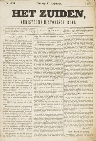 Het Zuiden, Christelijk-historisch blad 1880-08-17