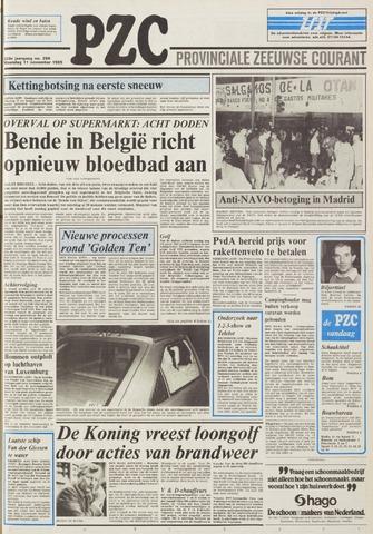 Provinciale Zeeuwse Courant 1985-11-11