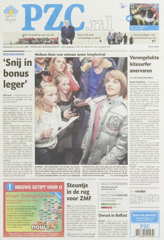 Provinciale Zeeuwse Courant 2009-11-23