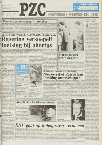 Provinciale Zeeuwse Courant 1984-06-20