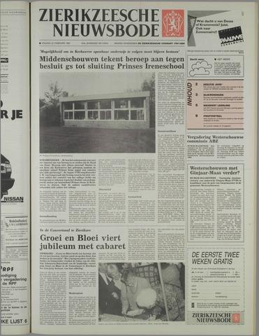 Zierikzeesche Nieuwsbode 1991-02-22