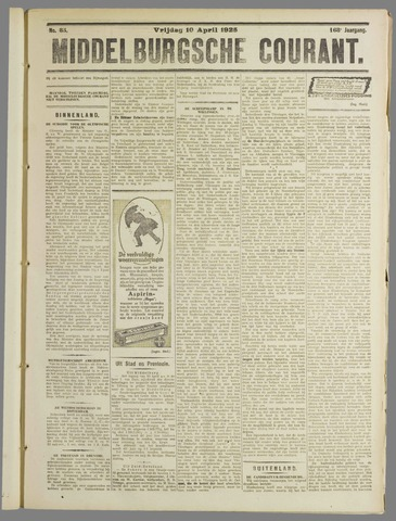 Middelburgsche Courant 1925-04-10