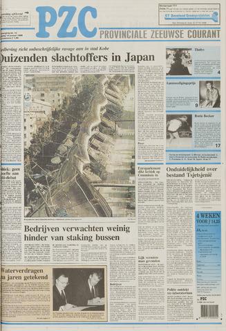 Provinciale Zeeuwse Courant 1995-01-18