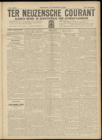 Ter Neuzensche Courant. Algemeen Nieuws- en Advertentieblad voor Zeeuwsch-Vlaanderen / Neuzensche Courant ... (idem) / (Algemeen) nieuws en advertentieblad voor Zeeuwsch-Vlaanderen 1938-08-29