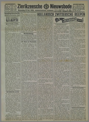 Zierikzeesche Nieuwsbode 1930-10-22