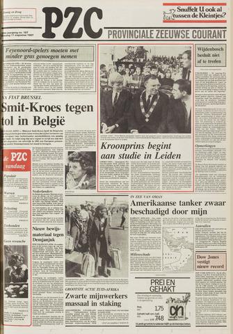 Provinciale Zeeuwse Courant 1987-08-11