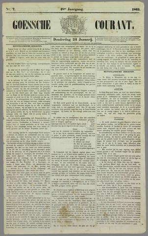 Goessche Courant 1861-01-24