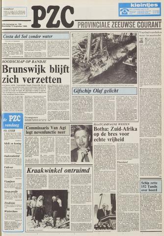 Provinciale Zeeuwse Courant 1986-08-13