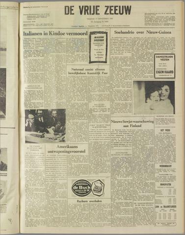de Vrije Zeeuw 1961-11-17