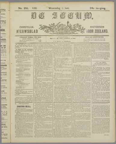 De Zeeuw. Christelijk-historisch nieuwsblad voor Zeeland 1910-06-08