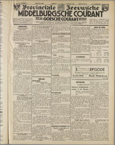 Middelburgsche Courant 1936-01-07