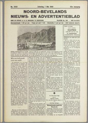 Noord-Bevelands Nieuws- en advertentieblad 1949-05-07