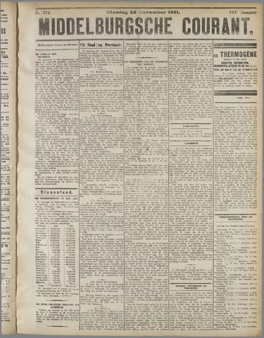 Middelburgsche Courant 1921-11-22