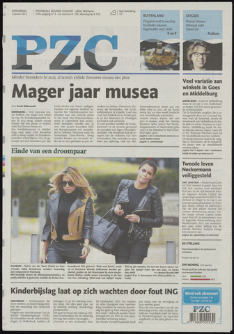 Provinciale Zeeuwse Courant 2013-01-03