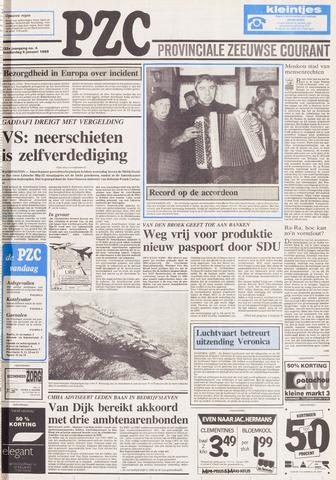 Provinciale Zeeuwse Courant 1989-01-05