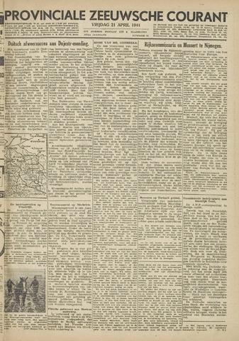 Provinciale Zeeuwse Courant 1944-04-21