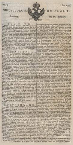 Middelburgsche Courant 1777-01-18