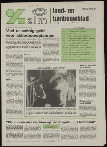 Zeeuwsch landbouwblad ... ZLM land- en tuinbouwblad 1991-01-25