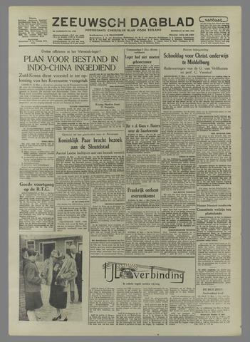 Zeeuwsch Dagblad 1954-05-22