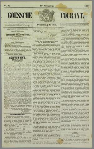 Goessche Courant 1859-05-12