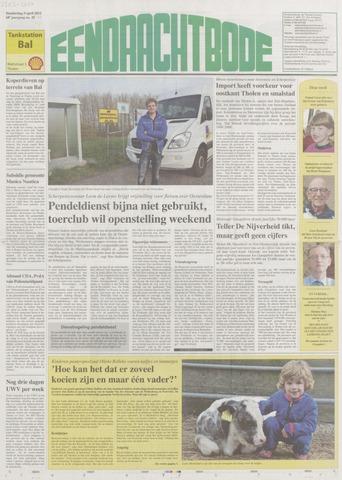 Eendrachtbode (1945-heden)/Mededeelingenblad voor het eiland Tholen (1944/45) 2012-04-05