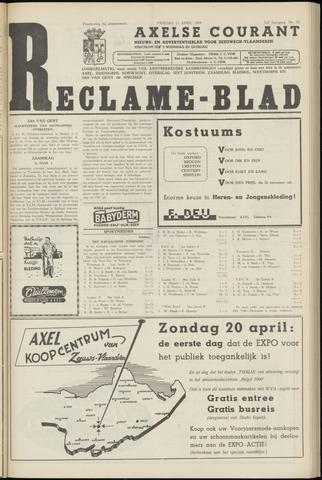 Axelsche Courant 1958-04-11