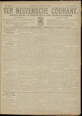 Ter Neuzensche Courant. Algemeen Nieuws- en Advertentieblad voor Zeeuwsch-Vlaanderen / Neuzensche Courant ... (idem) / (Algemeen) nieuws en advertentieblad voor Zeeuwsch-Vlaanderen 1918-03-14