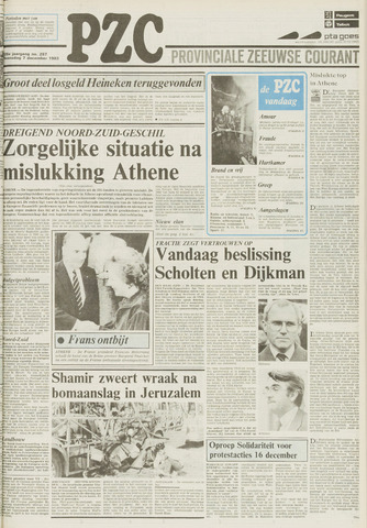Provinciale Zeeuwse Courant 1983-12-07