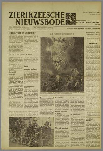Zierikzeesche Nieuwsbode 1962-12-24