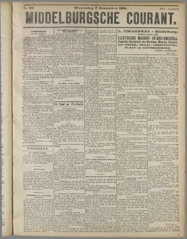 Middelburgsche Courant 1921-12-07