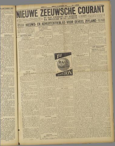 Nieuwe Zeeuwsche Courant 1924-09-23