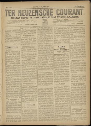 Ter Neuzensche Courant. Algemeen Nieuws- en Advertentieblad voor Zeeuwsch-Vlaanderen / Neuzensche Courant ... (idem) / (Algemeen) nieuws en advertentieblad voor Zeeuwsch-Vlaanderen 1931-07-06