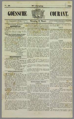 Goessche Courant 1861-03-11