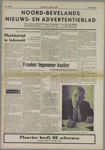 Noord-Bevelands Nieuws- en advertentieblad 1965-10-09