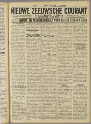 Nieuwe Zeeuwsche Courant 1930-01-21