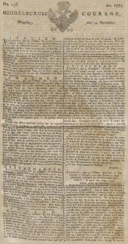 Middelburgsche Courant 1775-11-14