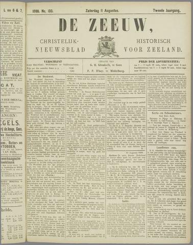 De Zeeuw. Christelijk-historisch nieuwsblad voor Zeeland 1888-08-11