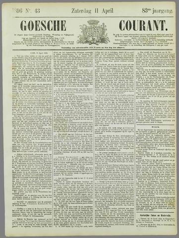 Goessche Courant 1896-04-11