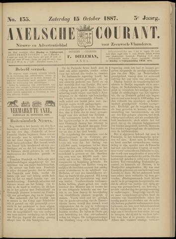 Axelsche Courant 1887-10-15