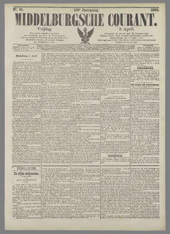 Middelburgsche Courant 1895-04-05