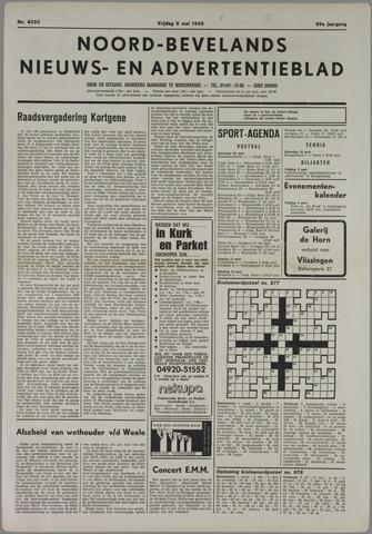 Noord-Bevelands Nieuws- en advertentieblad 1986-05-09
