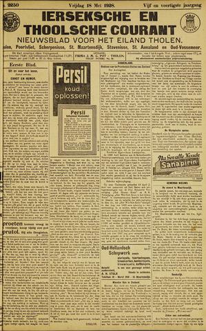 Ierseksche en Thoolsche Courant 1928-05-18