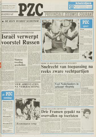 Provinciale Zeeuwse Courant 1984-07-30