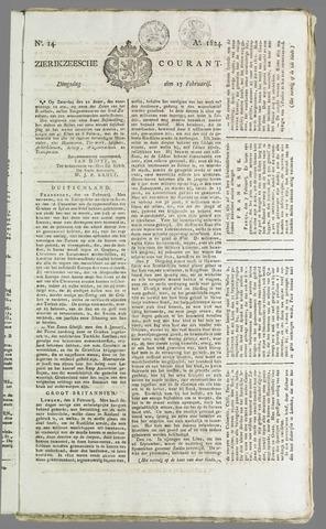Zierikzeesche Courant 1824-02-17