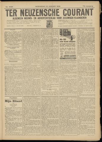 Ter Neuzensche Courant. Algemeen Nieuws- en Advertentieblad voor Zeeuwsch-Vlaanderen / Neuzensche Courant ... (idem) / (Algemeen) nieuws en advertentieblad voor Zeeuwsch-Vlaanderen 1934-01-10