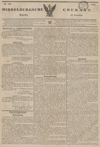 Middelburgsche Courant 1843-11-21