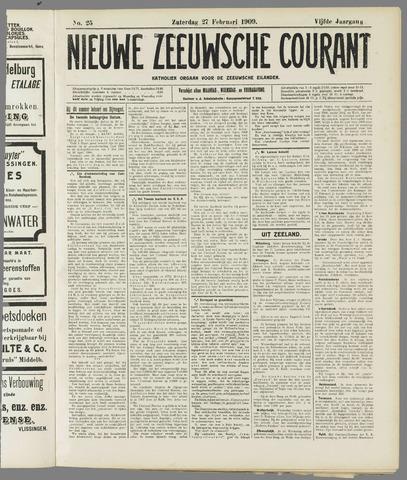 Nieuwe Zeeuwsche Courant 1909-02-27